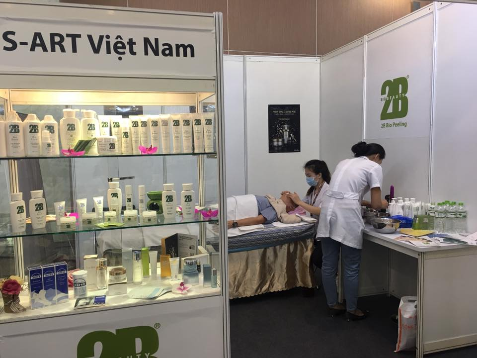 Cosmobeauté Vietnam, April 2017